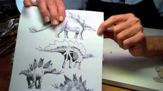 Sculpting a Stegosaurus - Part 2