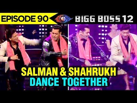 Salman Khan and Shahrukh Khan DANCE TOGETHER On Bi