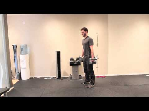 Dumbbell Straight Leg Deadlift to Bent Over Row