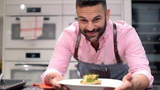 VIDEO - Lasaña vegetariana y salsa de tomate frito