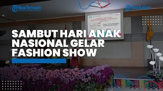 Hari Anak Nasional, TP PKK Tana Tidung Gelar Fashion Show Ibu dan Anak