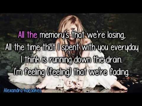 Avril Lavigne - Not Enough ( karaoke/instrumental )