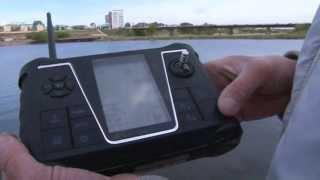 Радиоуправляемый кораблик с эхолотом для рыбалки