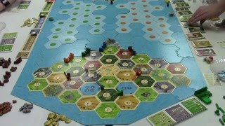 Catan All 4 Expansions Game part 1