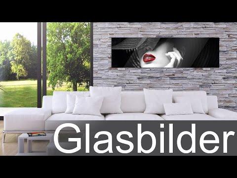 Moderne Glasbilder von Graz Design