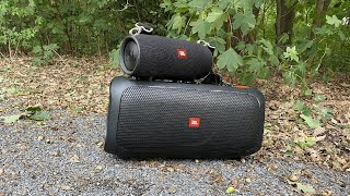JBL PartyBox On-The-Go Outdoor/Indoor Soundcheck