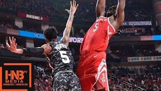 Houston Rockets vs San Antonio Spurs Full Game Highlights / March 12 / 2017-18 NBA Season