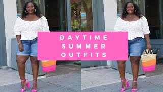 Cute Daytime Plus Size Summer Outfits