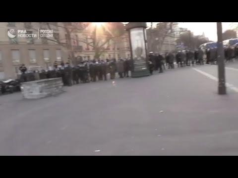 """14-я суббота протестов """"желтых жилетов"""" во Франции"""