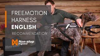 Non-stop dogwear Freemotion Harness EN