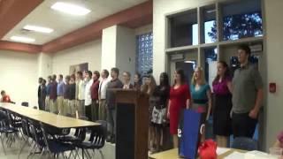 2012 Band Banquet - Senior Dismissal