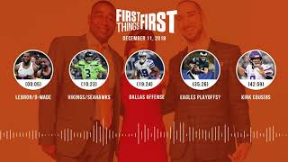 First Things First audio podcast(12.11.18)Cris Carter, Nick Wright, Jenna Wolfe | FIRST THINGS FIRST