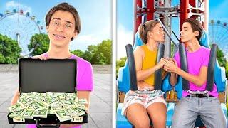 Teenager Bought an Amusement Park!