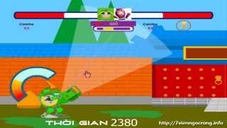 Game Robo trái cây - Trò chơi Robo trái cây bắn nhau cực hay