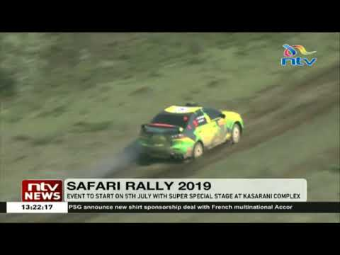 Safari Rally 2019 to start on 5th July with super special stage at Kasarani Complex