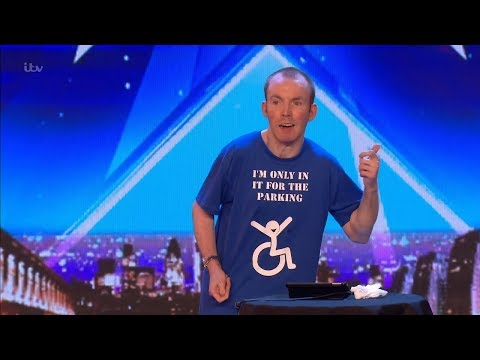 Britains Got Talent 2018 Lost Voice Guy Hilarious Comic Full Audition S12E02