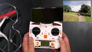 X300 - FPV Drone with Headless mode for Beginners!