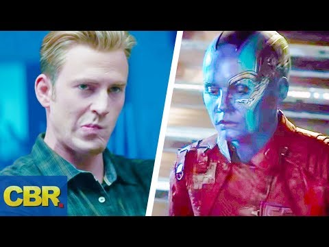Captain America Or Nebula Might Use The Infinity Gauntlet In Avengers Endgame