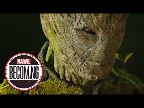 Cosplayer Hurleyfx Becomes Groot