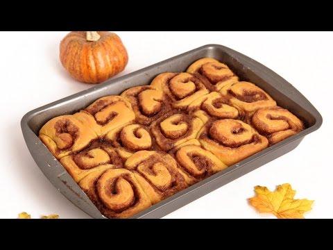 Pumpkin Pie Cinnamon Rolls Recipe – Laura Vitale – Laura in the Kitchen Episode 832