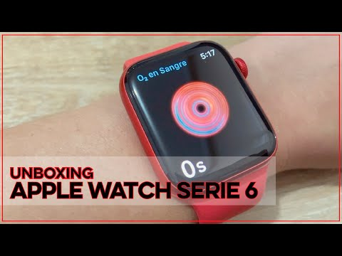 Unboxing Apple Watch Serie 6 en Español | Angelicazulita