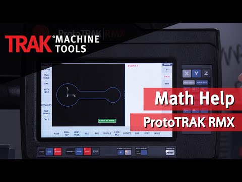 Math Help and the ProtoTRAK RMX