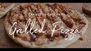 Barbecue Chicken Grilled Pizza