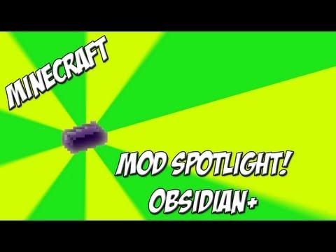 Minecraft Mod Spotlight!: Obsidian + [1.5.2] - Obsidian Armor and Tools!