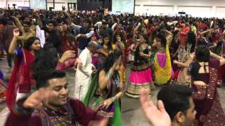 Shree Atul Purohit's Garba | Navratri Garba 31st October  2015 | International Centre, Toronto |