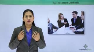 Soft Skills - Thematic Apperception Test