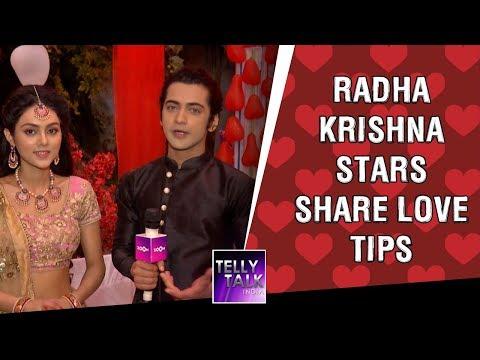 Radha Krishna stars Sumedh & Mallika share love tips for couples | Valentine's Day Special