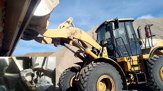 how to operate a large front end loader