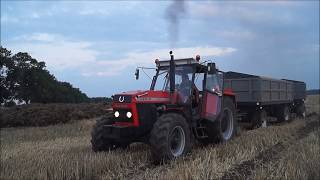 Ciężki Wyjazd / Żniwa 2017 Ursus 1614 PEŁNA MOC :D Racot