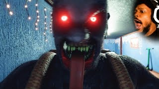 A CHRISTMAS HORROR GAME | Krampus Is Home