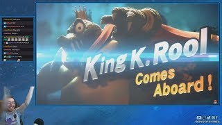 Super Smash Bros Ultimate Direct | Simon Belmont / King K. Rool | - Live Reactions and Discussions