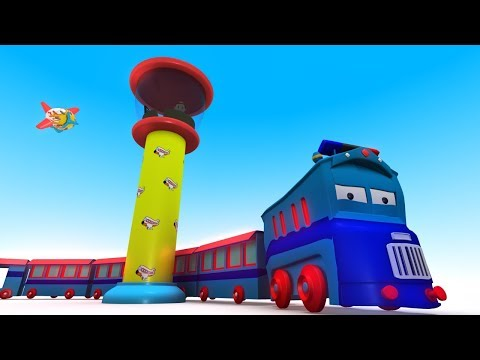 Cartoon City - Cars For Kids - Toy Train For Children - Videos For Children - Chu Chu Train – Jcb