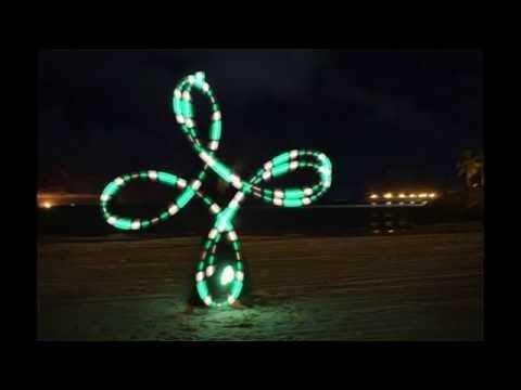 Poi Spinning by Alex Gent