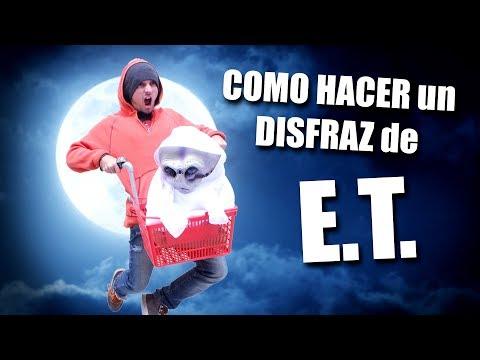 5658f258e2e71 DISFRAZ de Halloween de ET  JohannTV