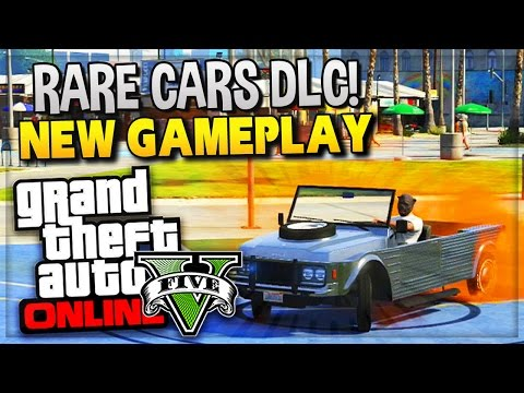 "GTA 5 Online - DLC Rare Cars Update 1.17 ""Last Team Standing"" (GTA 5 Online Gameplay)"