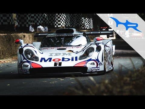 Le Mans Winning 1998 Porsche 911 GT1 - Festival of Speed