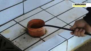 Шланг для прочистки канализации от компании Karcher и Nilfisk Alto - видео