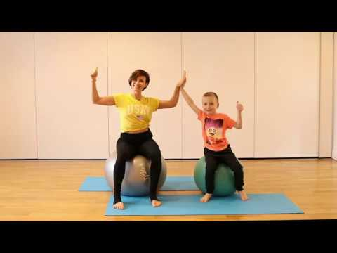Ball and Fun - Kids Pilates with Equitness