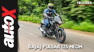 Bajaj Pulsar 125 Neon First Ride Video Review