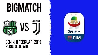 Live Streaming Sassuolo Vs Juventus di HP via MAXStream beIN Sports, Senin Pukul 00.00 WIB