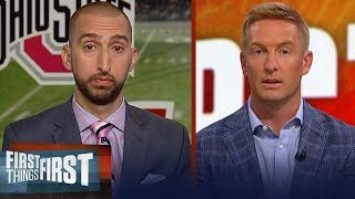 Joel Klatt previews the upcoming 2018-19 College Football season | CFB | FIRST THINGS FIRST
