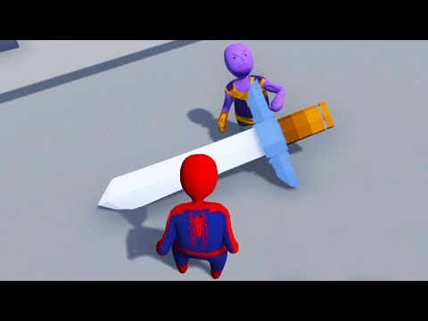 Thanos Finds The Ultimate Weapon in Human Fall Flat