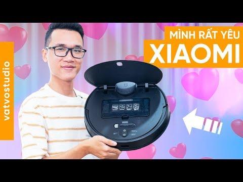 Đánh giá robot hút bụi Xiaomi Mijia Gen 2