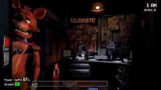 [Five Nights at Freddy's] What does the Foxy Say