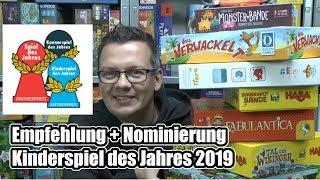 Kinderspiel des Jahres 2019: Nominierung und Empfehlung