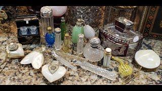 Coronavirus Lockdown Boredom ~ Antique & Art Deco Perfume Bottle Collection...